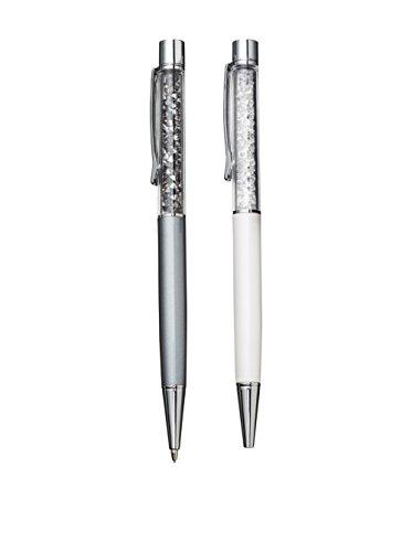 Swarovski Crystalline Lady Kugelschreiber White Pearl & Minenbleistift 1145328 AP 2016