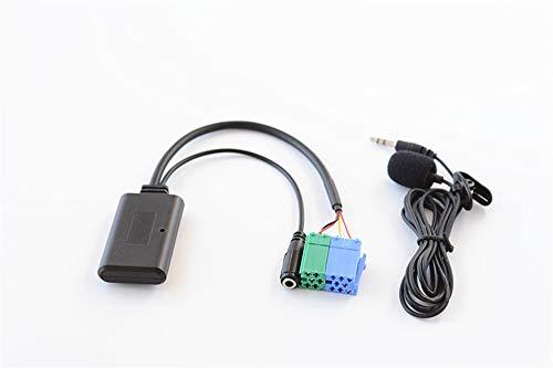 Freisprecheinrichtung Bluetooth Adapter für Mercedes Benz Porsche mit Becker Radio, Auto AUX Wireless Musik A3 A4 A5o Receiver für Porsche MB 1994-02