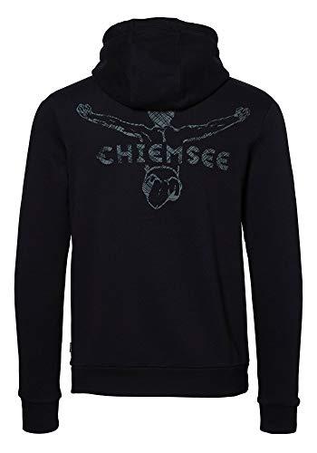 Chiemsee Herren Kapuzensweatshirt Kapuzensweatshirt, deep Black, XL, 2099100