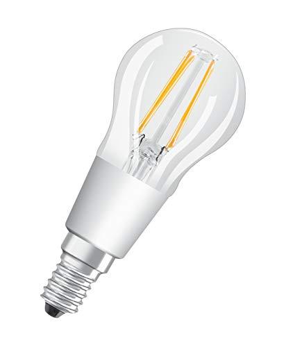 OSRAM Lot de 10 Ampoules LED   Culot E14   Blanc chaud   2700 K   4,50 W équivalent 40 W   clair   LED Retrofit   Forme sphérique   Dimmable