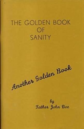 The Golden Book of Sanity (Another Golden Book) by John Doe (1997-09-15)