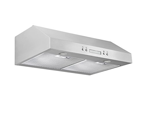 Ancona UCP430 Under-Cabinet Range Hood, 30-Inch, Stainless Steel