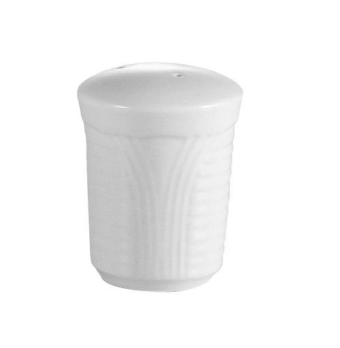 CAC China Pfeffer- und Salzstreuer, Porzellan, Weiß Corona 2-1/8-Inch(Pepper Shaker) Super white; bright white