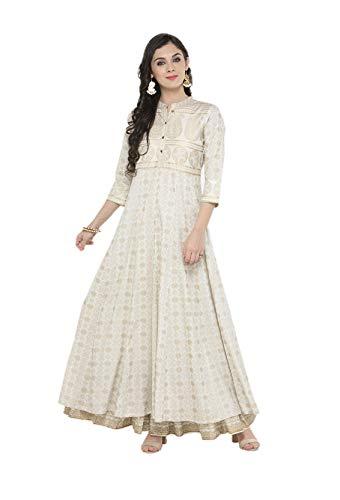 kurta for women Indian Tunic Tops Long Dresses Anarkali kurtis for women party...