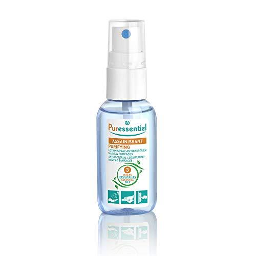 Laboratoire Puressentiel Lotion Spray Antibactérien pour Mains/Surfaces Format Pocket