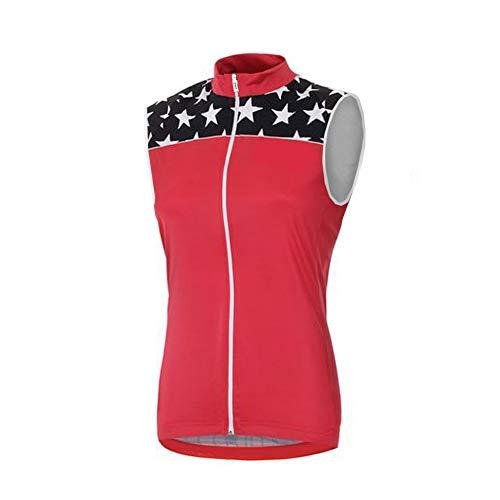 Uglyfrog Damen Winter MTB Thermo Fleece Cold Wear Reflektierende Fahrradweste/Laufweste/Radweste/Atmungsaktiv und Winddicht/Reflektoren Radfahren Radsport Reiten Weste