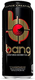 Bang Energy Drinks - 6, 16 ounce cans (Champange)