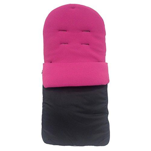 Saco/Cosy Toes Compatible con Quinny Buzz, color rosa oscuro