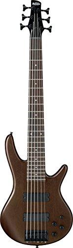 Ibanez GSR 6 String Bass Guitar, Right, Walnut Flat (GSR206BWNF)