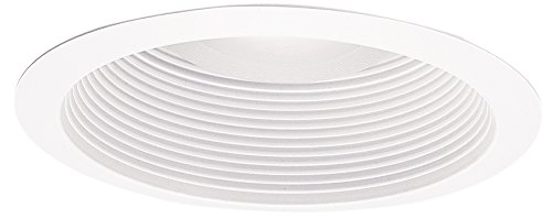 ALL-PRO Recessed ERT713WHTTS ALL-PRO 6-Inch Gloss Trim and Baffle