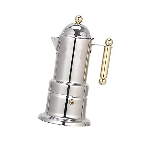 NEW MEI Zagęszczona włoska ekspres do ekspresu do espresso ze stali nierdzewnej Mokka Garnek do kawy do płytowej lub indukcyjnego domu