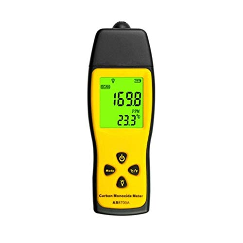 no-branded Hand Kohlenmonoxid-Messgerät Tragbares Cogas Leak Detector Gas Analyzer High Precision Gas Monitor Tester 1000ppm XXYHYQHJD
