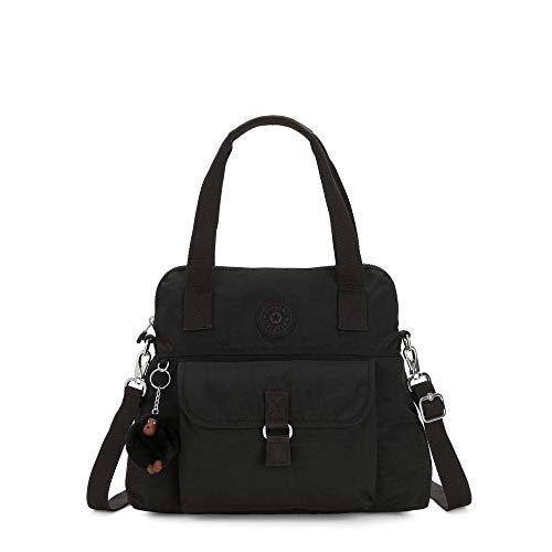 Kipling Pahneiro Handbag Black Tonal