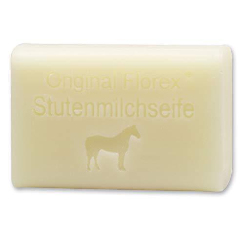 Florex Schafmilchseife - Stutenmilch - cremige Milchseife spendet sehr viel Feuchtigkeit besonders mild 100 g