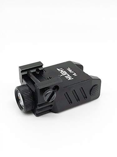 HiLight PIRL Pistol Flashlight | Pistol Light | Weapon Light | Rechargeable Pistol Flashlight | Strobe Flashlight | CREE LED 500 lumen pistol light with USB charger | Fits Glock 19 or Walther P99