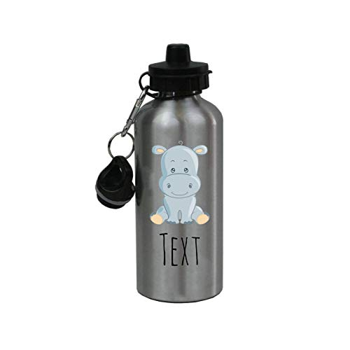 Sale!! Personalized Custom Baby Elephant - Safari/Zoo Aluminum 20 Ounce Kids Summer Sport Water Bott...