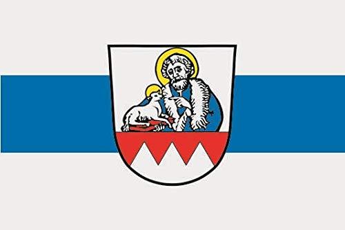 U24 Fahne Flagge Hofheim in Unterfranken Bootsflagge Premiumqualität 20 x 30 cm