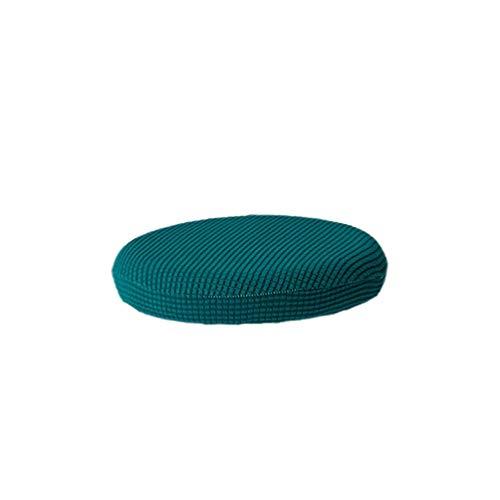 VOSAREA Fodera per Sedia Tondo Elastica Protezione Della Sedia (Blu Zaffiro, Diametro 30-38 cm)