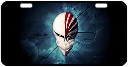 Durable Cool Metal License Plate - Bleach Hollow Mask Anime Manga Japan