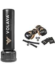 VOLAVA Boxing Full Kit - Equipo Completo de Boxing con sensores de Movimiento, pulsómetro, Saco de Boxeo y Guantes. Uso doméstico. GANA Fuerza y Resistencia. Clases virtuales bajo suscripción.