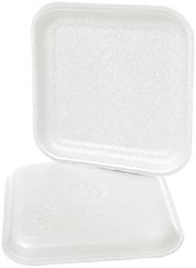 CKF 1SW 1S White Foam Year-end gift Meat Disposable Trays online shop Supermark Standard