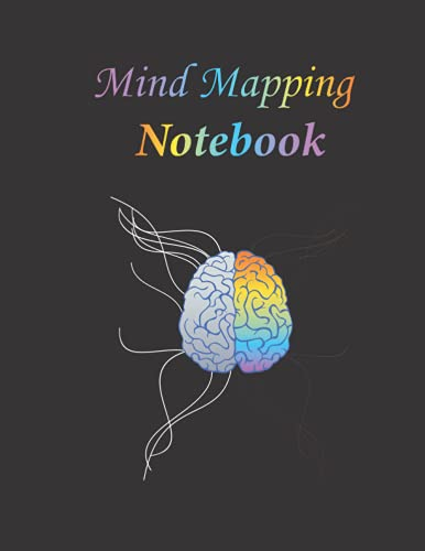 Mind Mapping Notebook: Mind Mapping Workbook - Mind Map Templates for Improved Memory and Effective Note taking