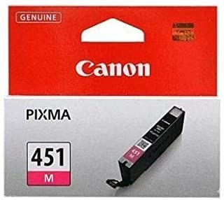 Canon Ink Cartridge, Magenta [cli-451m]