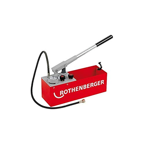 ROTHENBERGER 6.0200 Bomba Comprobacion, Rojo
