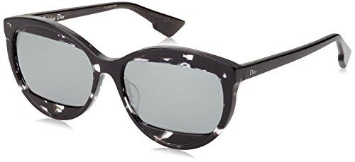 Dior DIORMANIA2 T4 AB8 Gafas de sol, Gris (Havana Grey/Black Fl), 57 para Mujer