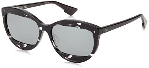 Dior Damen Diormania2 T4 Ab8 57 Sonnenbrille, Grau (Grey/Black)