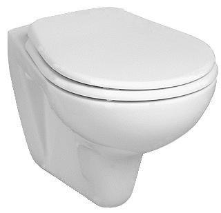 Wand WC Ceravid Tiefspüler mit hochwertigem WC Sitz Absenkautomatik per Knopdruck abnehmbar Komplettset