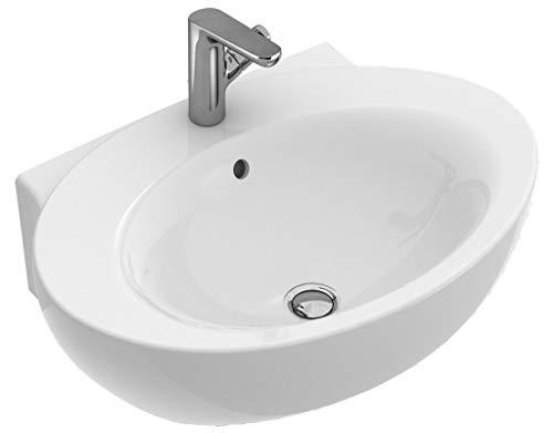 Villeroy & Boch Waschtisch Aveo new generation 413070 680x500 Weiß Alpin Ceramicplus, 413070R1