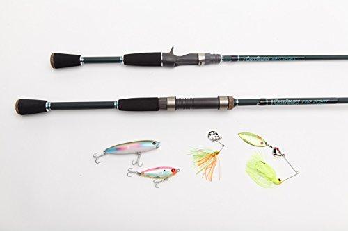 Castaway Rods Pro Sport Flipping Freshwater Rod, 7.5-Feet, Extra-Heavy