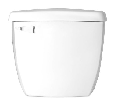 Saniflo 5 Toilet Insulated Tank with Fill and Flush Valves, White