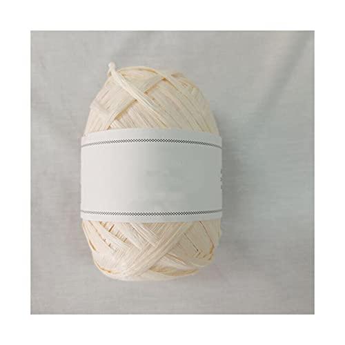 40 g/80 m/bola de verano de fibra de rafia natural para tejer a mano RAFFIA sombrero de paja bolsa...