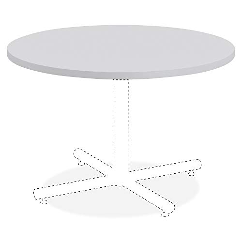 Lorell Hospitality Bentwood Table Top, High Pressure Laminate (HPL),Light Gray