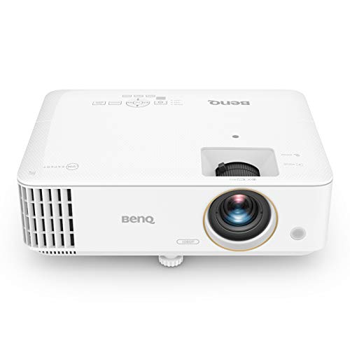 BenQ TH685 Projecteur DLP Gaming 1080p 3500 LM, HDMI, 3D, Faible Latence pour Consoles, Blanc