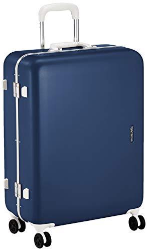 [サンコー] SERIES-R スーツケース セリエス 静音双輪キャスター ステッカー付 キャスターカバー付 59L 59 cm 4.8kg ネイビー