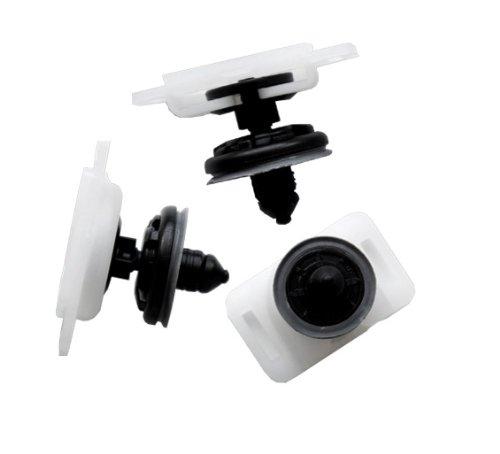 myshopx Rivets en plastique C20 - Pour protection anti-encastrement - Clips de fixation pour revêtement de porte, pare-chocs, bagues, passage de roue, compartiment moteur