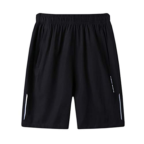 VPASS Pantalones Hombre Verano Casual Moda Pantalones Tallas Grandes Deportivos Color sólido...