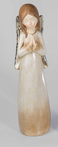 Formano Engel 731296 Figur Deko-Engel Engelsfigur schlicht Schutzengel Weihnachtsengel Taufgeschenk