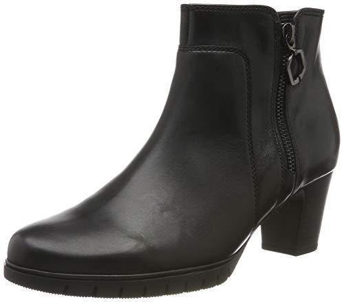 Gabor Shoes Damen Comfort Basic Stiefeletten, Schwarz (Schwarz (Micro) 57), 40 EU