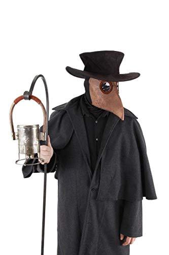 elope Bubonic Plague Doctor Costume Mask Hat Headsock