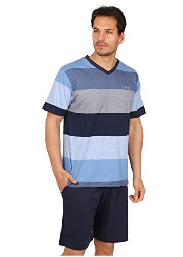 Stay AT Home Pijama Manga Corta Stripes para Hombre