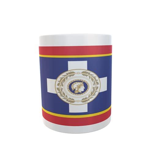 U24 Tasse Kaffeebecher Mug Cup Flagge Athen