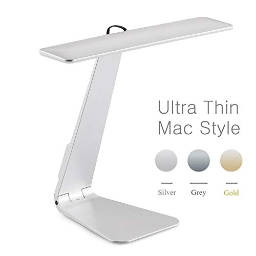 Estilo Mac Ultra-delgado 200LM LED 3 Modo Atenuación Interruptor Táctil Lectura de...
