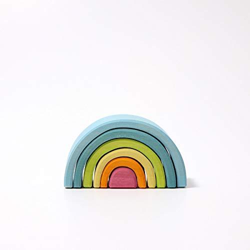 Grimm's Spiel und Holz Design Kleiner Regenbogen Pastell