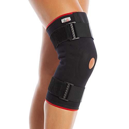 Ligamentos de la rodilla apoyo largo - Open Patella - Brace (XL)