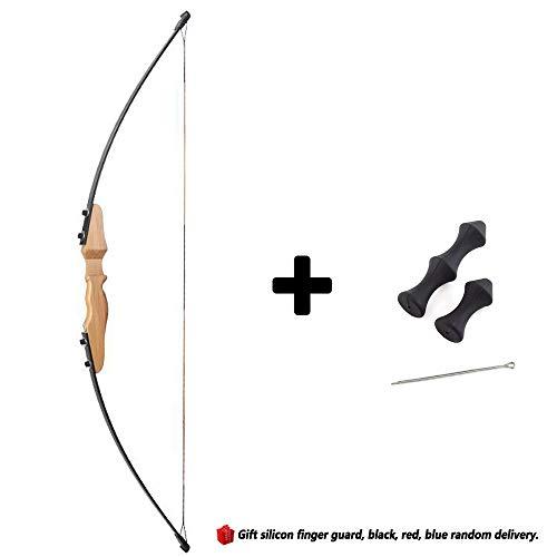 WEREWOLVES Bogenschießen Recurve Bogen für Anfänger taktischer Bogen Recurve Bogen aus Holz (Gelb)