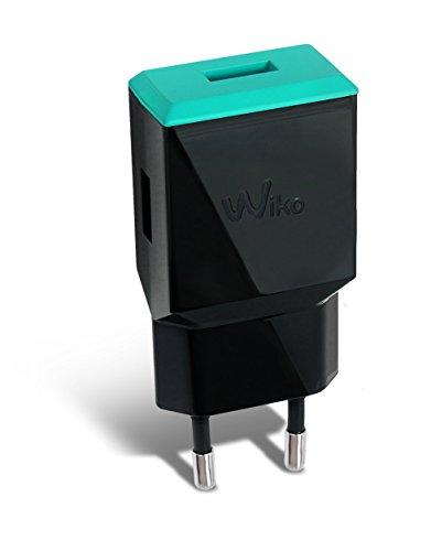 Wiko wiacc0002Ladegerät für Smartphone 2,1mAh schwarz/Bleen